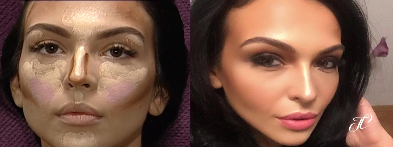 Francesca Makeup X Factor - Before & After - Tania Cozma