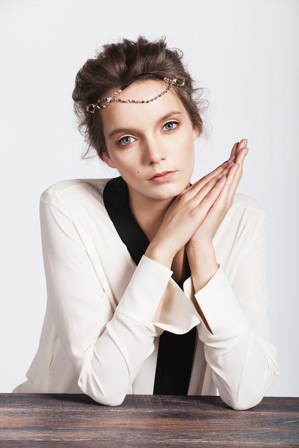 Mscarves campaign | Tania Cozma makeup