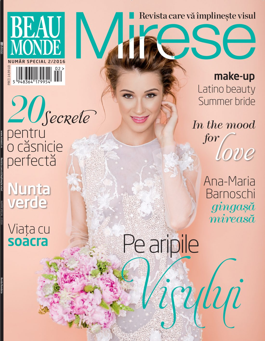 Beau Monde Mirese Cover | Tania Cozma makeup