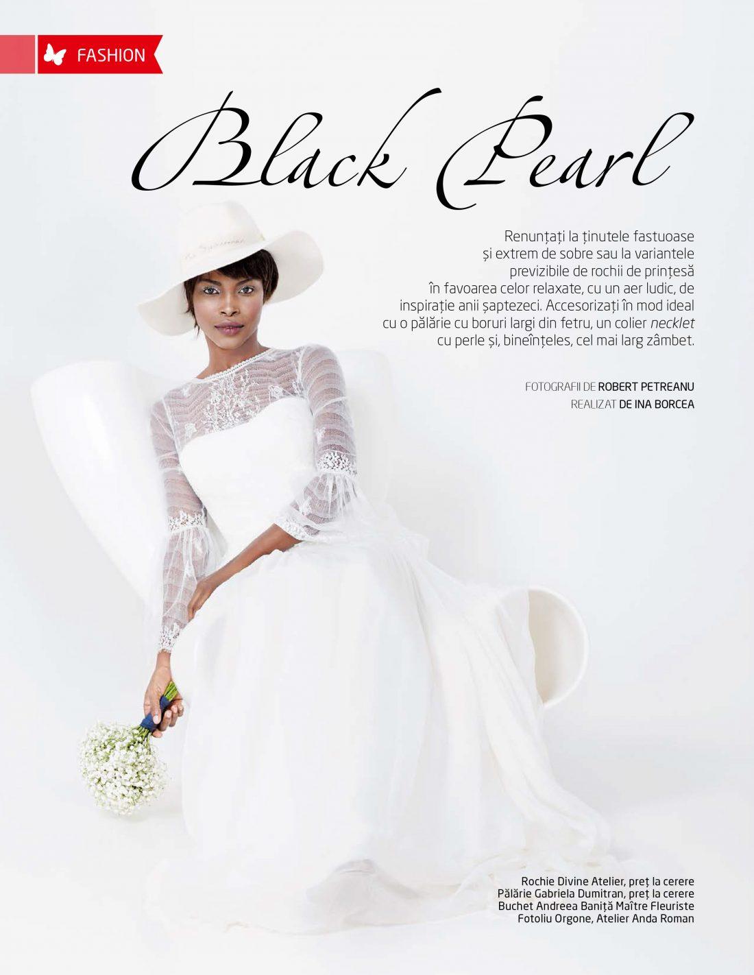 Beau Monde Mirese - Black Pearl | Tania Cozma makeup
