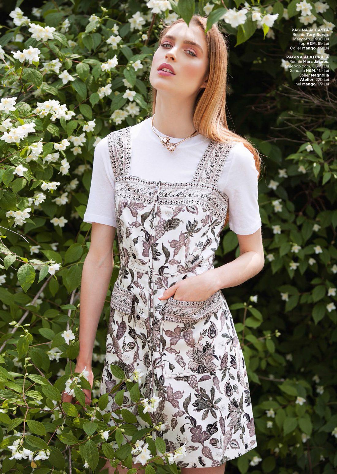 Harper's Bazaar - Idila de-o vara | Tania Cozma make-up