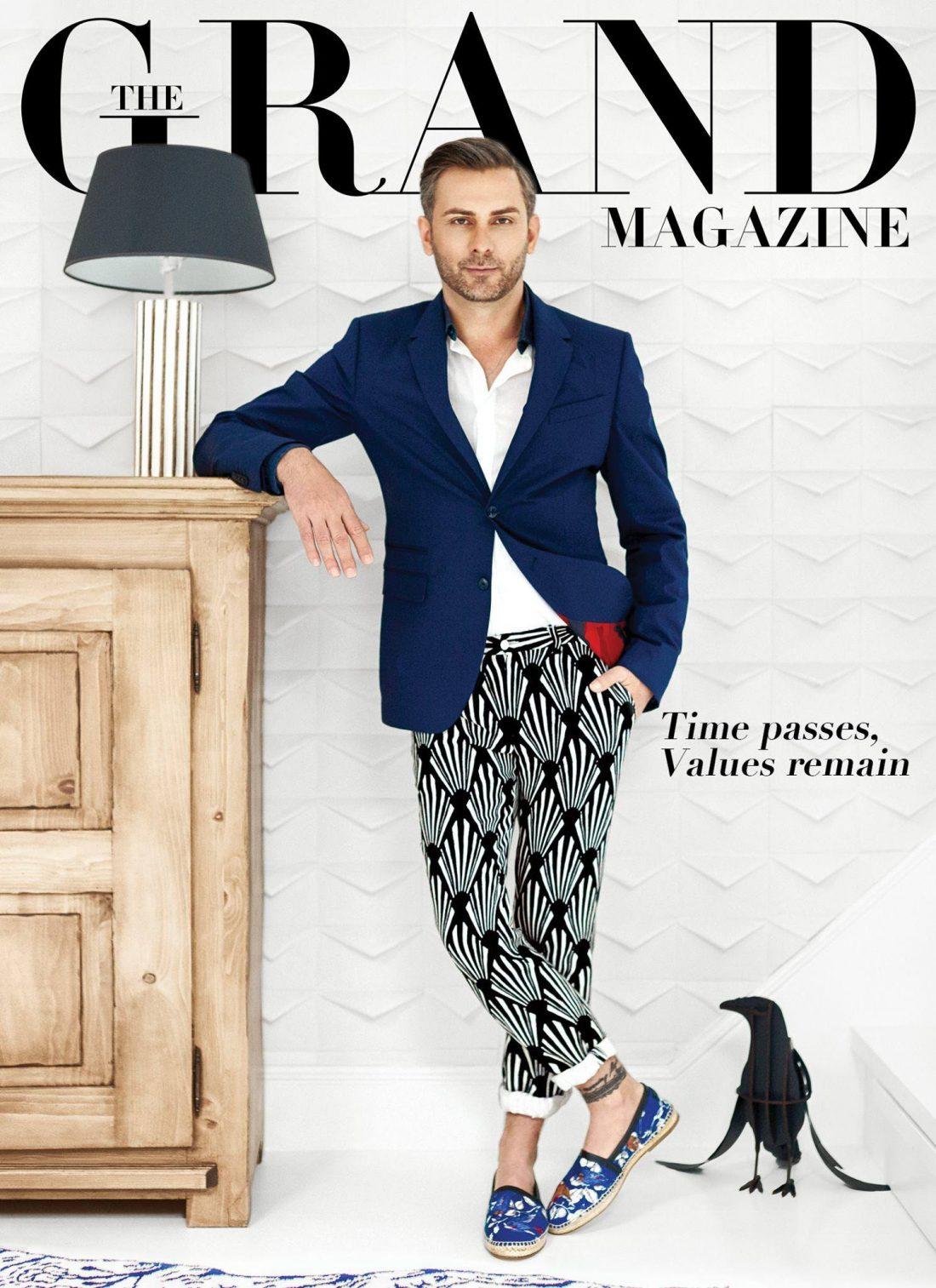 The Grand Magazine Cover | Tania Cozma makeup
