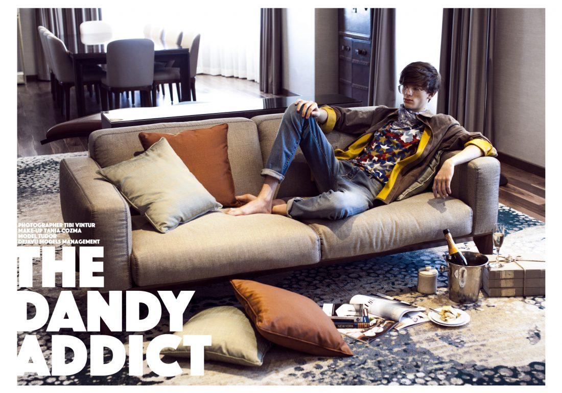 The Grand Magazine - The dandy addict | Tania Cozma makeup