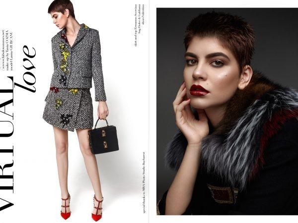 The Grand Magazine - Virtual love | Tania Cozma makeup