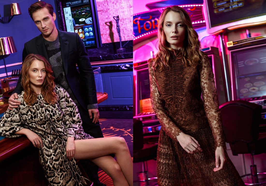 The Grand Magazine - Dans le casino | Tania Cozma makeup